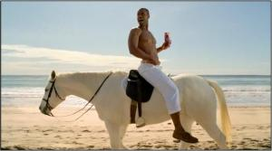 old-spice-guy horse